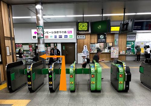 豊田駅から当院までの行き方1